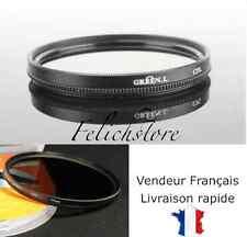 Filtre photo Polarisant circulaire CPL 55 mm Objectif Canon Nikon Pentax Sony..