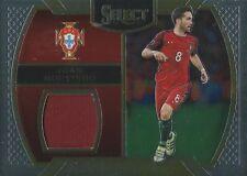 2016-17 Panini seleccionar fútbol Joao Moutinho Portugal Usada Jersey tarjeta de jugador