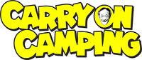 CAMPERVAN CARAVAN / STICKERS /DECAL /GRAPHIC / MOTORHOME  DECAL CARRY ON CAMPING