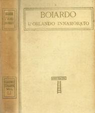 L'ORLANDO INNAMORATO. . BOIARDO. SD. .