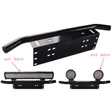 Black Offroad SUV Front Bumper Light Bar Mount Bracket Holder Car Accessories
