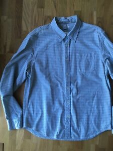 Men's White Stuff Long Sleeved Checked Shirt. Size L