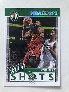 kyrie irving 2017/18 Nba Hoops Action Shots Boston Celtics #4 Brooklyn Nets