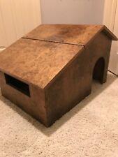 Mid Century Modern Dog House for Small/Medium Pet or Lg Dollhouse Wood Handmade