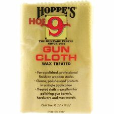 NEW Hoppe's 9 Gun Oil Cloth Wax Treated - Firearm Fishing Reel Cleaning Protect