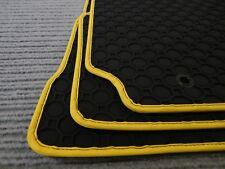 $$$ Original Lengenfelder Gummimatten für VW Caddy Life + RAND GELB + Fußmatten