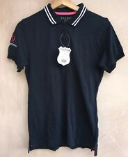 Ladies Navy Polo Top Size S Payper Jeans BNWT<NH6369
