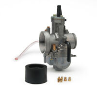 New 34mm KOSO PWK Power Jet Carburetor Carb Flat Silde For Dirt Bike Motorcycle
