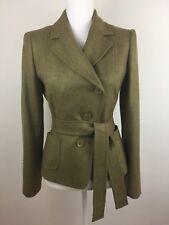 MaxMara Women's Virgin Wool Blazer Jacket Made in Italy Size 6