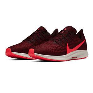 Nike Air Zoom Pegasus 36 UK 14 Mahogany Bright Crimson Cedar AQ2203-200