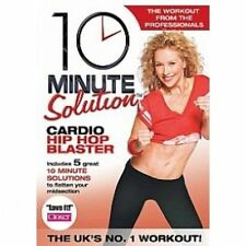 10 Minute Solution Cardio Hip Hop Blaster. Exercise Fitness Workout DVD - NEW