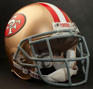 DEION SANDERS Edition SAN FRANCISCO 49ers Riddell AUTHENTIC Football Helmet NFL