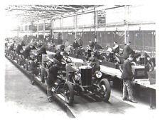MG M Type 18/80 Factory Retrospective black & white Press Photograph No. 8486