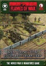 Flames of War - USA: M1A1 Long Tom Field Artillery Battery UBX40