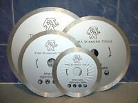 "200mm 8"" inch THK Diamond segment sintered continuous rim TILE SAW BLADE wheel"
