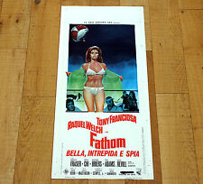 FATHOM BELLA, INTREPIDA E SPIA locandina poster affiche Raquel Welch AB72
