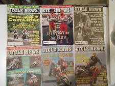 6 1993 CYCLE NEWS WEEKLY MAGAZINE.MOTORCYCLE EVENT COVERAGE AND INFO FILLED,