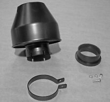 Mantec Raised Air Intake Top/pre cleaner in steel - original quality for TD5/V8