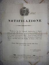 R237-TOSCANA-CORSO DI POSTA S.MINIATO A FIRENZE-PISA-LIVORNO