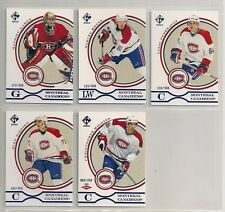 2003-04 Private Stock Reserve Blue Montreal Canadiens Team Set (5)