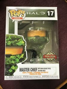 Funko Pop! Halo - Master Chief With MA40 Assault Rifle Hydro Deco #17