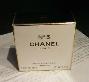 CHANEL N° 5 Bath Soap 5.3 oz / 150 g NEW, SEALED, In Box