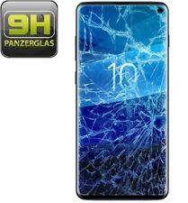 6x 9h templado tanques Lámina pantalla vidrio full cover para Samsung Galaxy s10 claramente 3d
