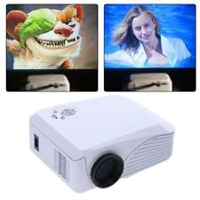 HD 1080P 7000 Lumens LED 3D Multimedia Projector Portable Home Theater USB HDMI