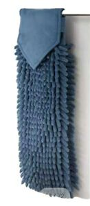 New Denim Norwex Chenille Hand Towel