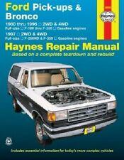 Repair Manual-Xlt Lariat Haynes 36058