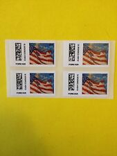 US Forever (4) CVP91 Flag 1st Class Postage 2014 Post Office Fresh MNH