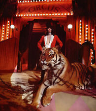 Mick Jagger UNSIGNED photo - K6386 - With Tiger!!!!