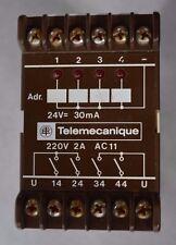 Télémécanique Bloc de relais de sortie SG3 ARB 0101 24V 4Schlieser 220V 2A6.025