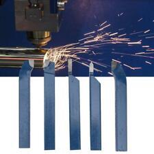 5Pcs Lathe Tooling Carbide Tip Tipped Cutter Tool Bit Cutting Set 8/10/12/16mm