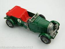 Matchbox Models of Yesteryear Lesney 4.5 LITER BENTLEY 1929 No. 5 Green