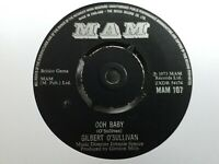 "Gilbert O'Sullivan - Ooh Baby 7"" Vinyl Single"