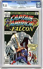 Captain America #222 CGC 9.6 NM+  White pgs 6/78  Ernie Chan cover,  Sal Buscema