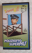 CS21> FILM VHS POLIZIOTTO SUPERPIU' - TERENCE HILL