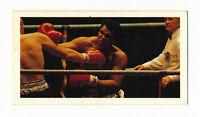 1979 Brooke Bond Oxo MUHAMMAD ALI #21 Boxing Card (Cassius Clay Memorabilia)