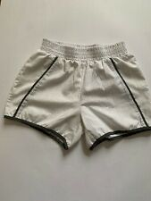 Daisy Fuentes Women's Fit Athletic White Shorts Size Small