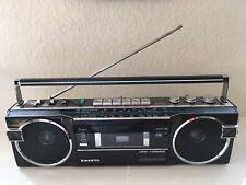 Sanyo M7770K Boombox Stereo Radio Cassette Am/Fm/Sw