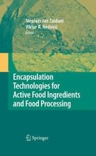 Encapsulation Technologies for Active Food Ingredients and Food Processing...
