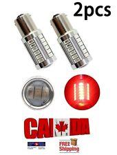 2x 1157 BAY15D Red LED 33SMD 5630 Car Turn Signal Blinker Lights DRL