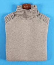 $2125 NWT - LORO PIANA 100% BABY CASHMERE DOLCEVITA Turtleneck Sweater - 56 XXL