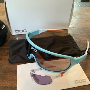 NEW - POC DO Blade (RARE) Larsson Edition - Seaborgium Blue/Hydrogen White