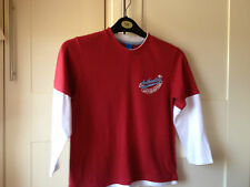 boys long sleeved t-shirt Adams 7 Years 100% Cotton Used in Good Condition