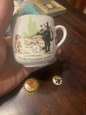 New ListingFelix The Cat Vintage Mug - Rare ,and Pep Pinback And Bottle Cap