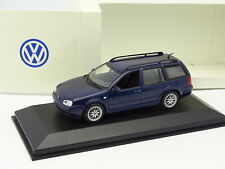 Minichamps 1/43 - VW Golf Break Bleue