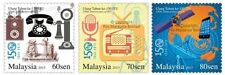 Malaysia 2015 150th Anniversary of ITU stamps 3v MNH (avail. in block of 4)