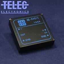 1 PC. SGS GS-R412/2 Single Output Switching Regulator